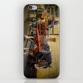 Horse And Cart iPhone Skin