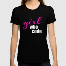 Girl who Code T-shirt