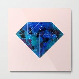 Tangram Diamond Three Metal Print
