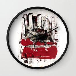 blood and marrow v2 Wall Clock