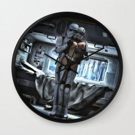 Sexy Sci-Fi 3 Wall Clock
