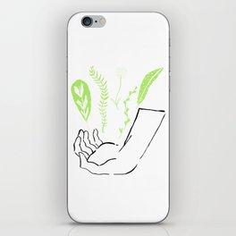 green magic iPhone Skin