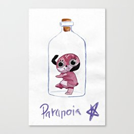 Paranoia Agent Fan Canvas Print