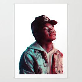 Chance The Rapper Poster Art Print