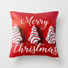 Christmas Baking Throw Pillow
