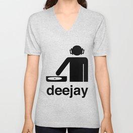 deejay Unisex V-Neck
