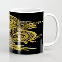 Epic Dragon Yellow Coffee Mug