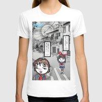 manga T-shirts featuring Shoujo Manga  by I love Bubbah