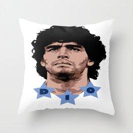 Maradona - D10 Throw Pillow