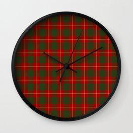 CAMARON TARTAN #1 Wall Clock