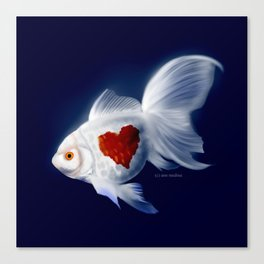 Fishy Knows It Best Canvas Print