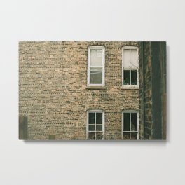 Old Bricks Metal Print