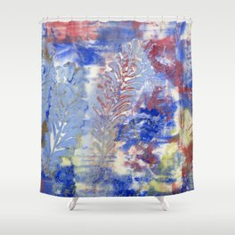 Feather Textures Shower Curtain