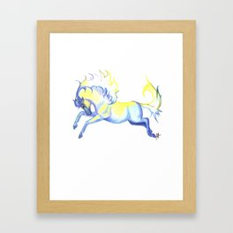 Air Horse Framed Art Print