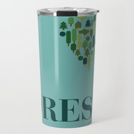 I heart Forests Travel Mug