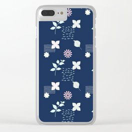 Summer Night Clear iPhone Case