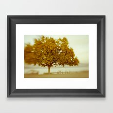 Dreamy Yellow Framed Art Print