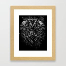 Merged Framed Art Print