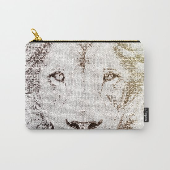 The Intellectual Lion Carry-All Pouch
