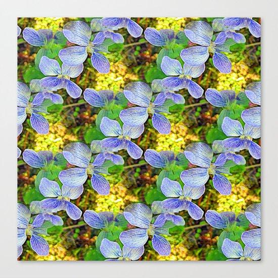 Floral Cascade Canvas Print