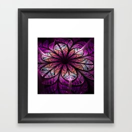 Divine - Abstract Fractal Artwork Framed Art Print