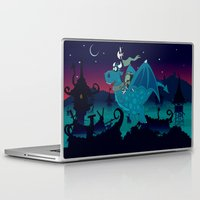 watch Laptop & iPad Skins featuring Night watch by mangulica illustrations