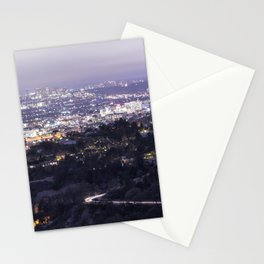 Los Angeles Nightscape No. 2 Stationery Cards