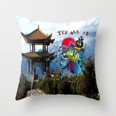 Big Trouble In Little China  Throw Pillow