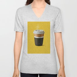 Coffee battery Unisex V-Neck
