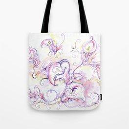 Purple calla lilies Tote Bag