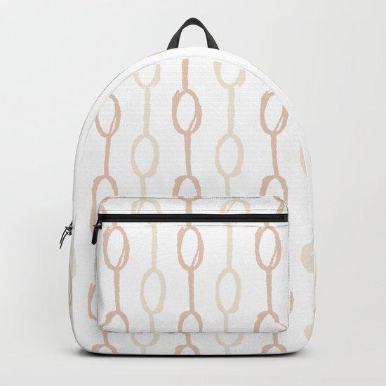 Girly Dot Stripe 2 Backpack