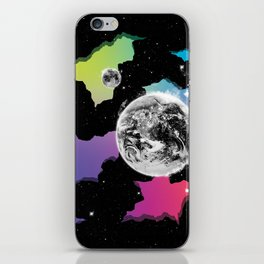 The Neon Spectrum and Cosmic Matter iPhone Skin