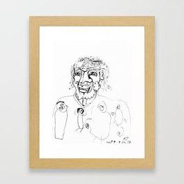Jesus Loves the Little Children - Collaboration Framed Art Print