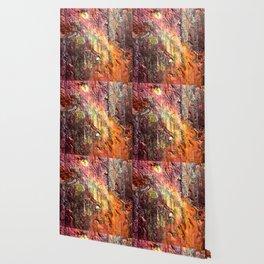 Colorful Nature : Texture Warm Tones Wallpaper