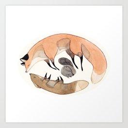 Apesanteur Art Print