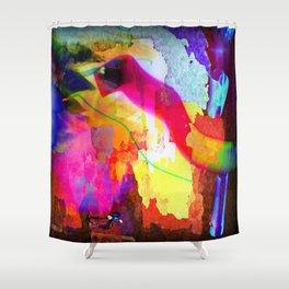 Neon Magic Shower Curtain