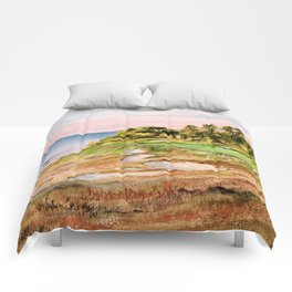 Whistling Straits Golf Course Comforters