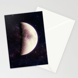 Violet Moon Stationery Cards