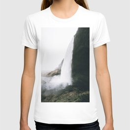 Waterfall II / Seljalandsfoss, Iceland T-shirt