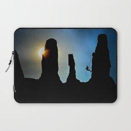 Rock Climbing Mountaineer Laptop Sleeve
