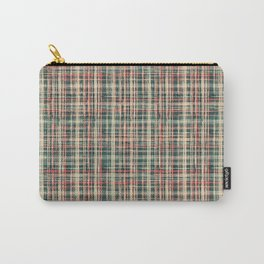 simple checkered pattern. Carry-All Pouch