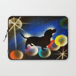 Bubbles the Dachshund  Laptop Sleeve