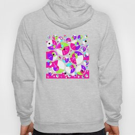 Bubble Red Hoody