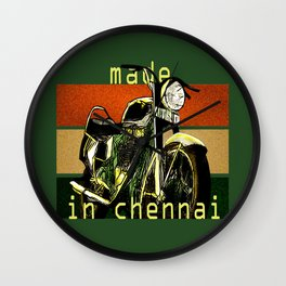 Royal Enfield - Made in Chennai Wall Clock
