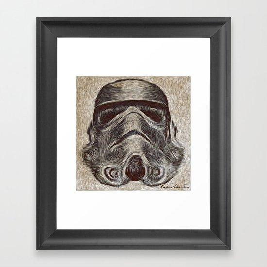Vincent Stormtrooper Framed Art Print