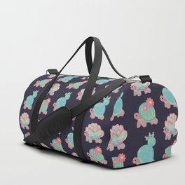 Cactus tortoise Duffle Bag