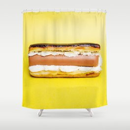 Hot Dog Eclair Shower Curtain