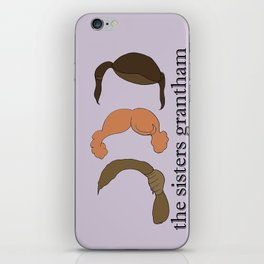 The Sisters Grantham: Downton Abbey iPhone Skin