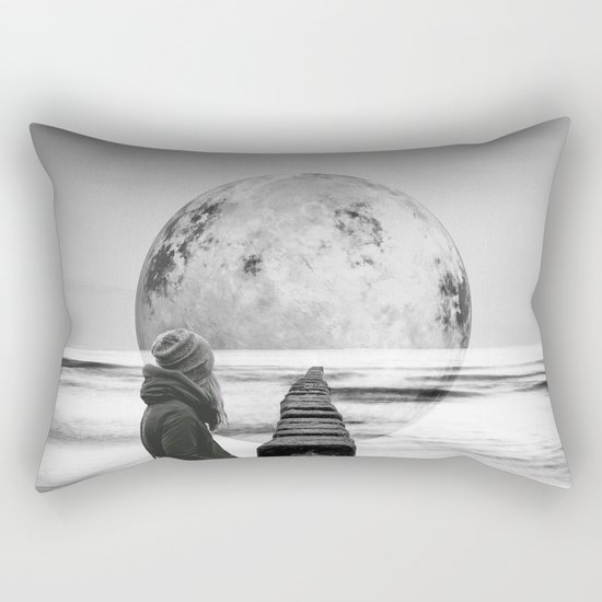 Strange Trip Rectangular Pillow