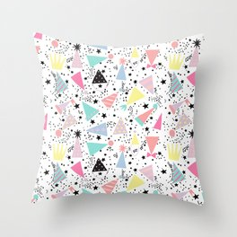 Bonetes Throw Pillow